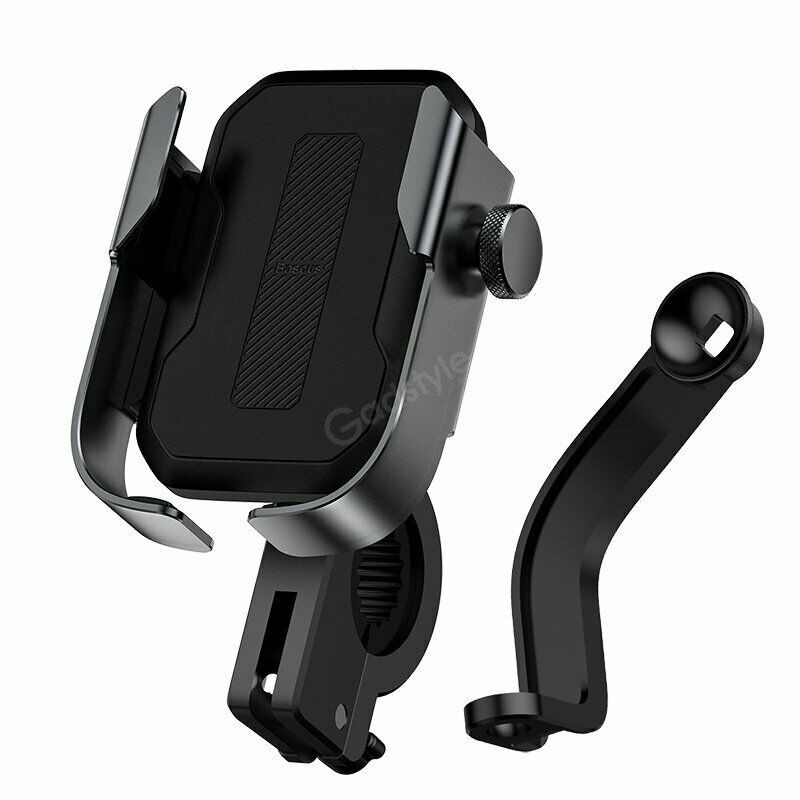 Baseus Universal Motorcycle Motorbike Scooter Bike Phone Holder Gps Stand Mount (4)