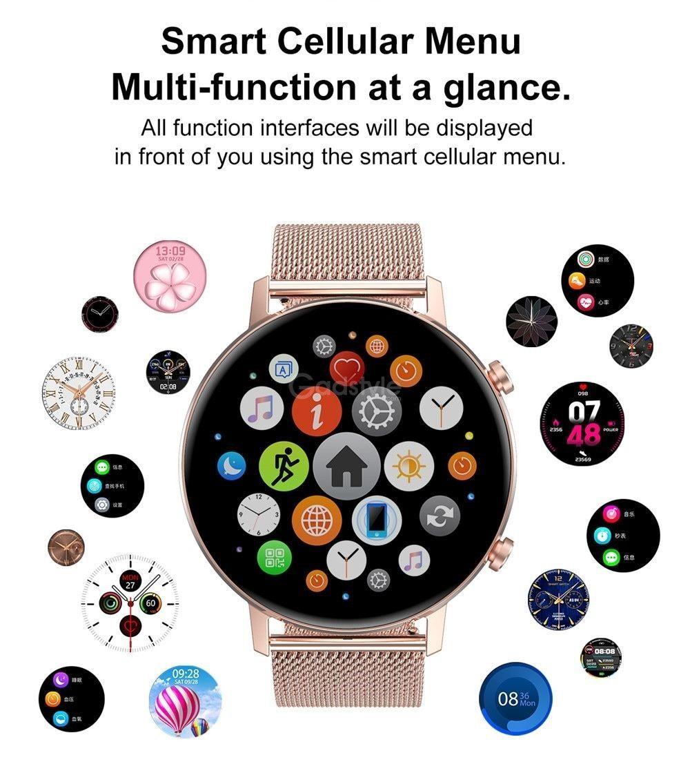 Dtno 1 Dt96 Smart Watch Ip67 Waterproof (3)