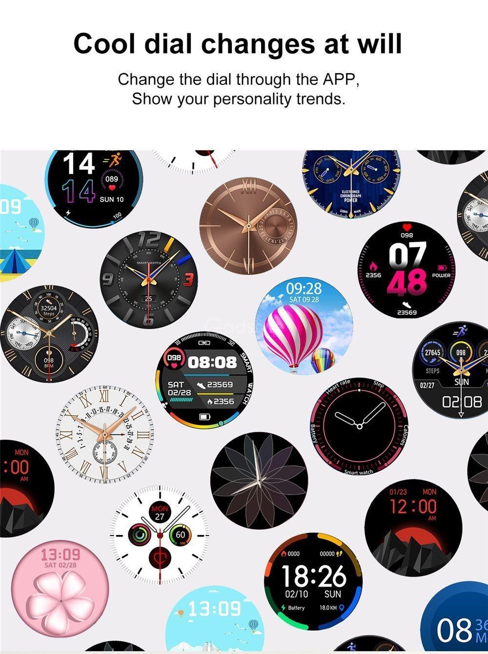 Dtno 1 Dt96 Smart Watch Ip67 Waterproof (8)