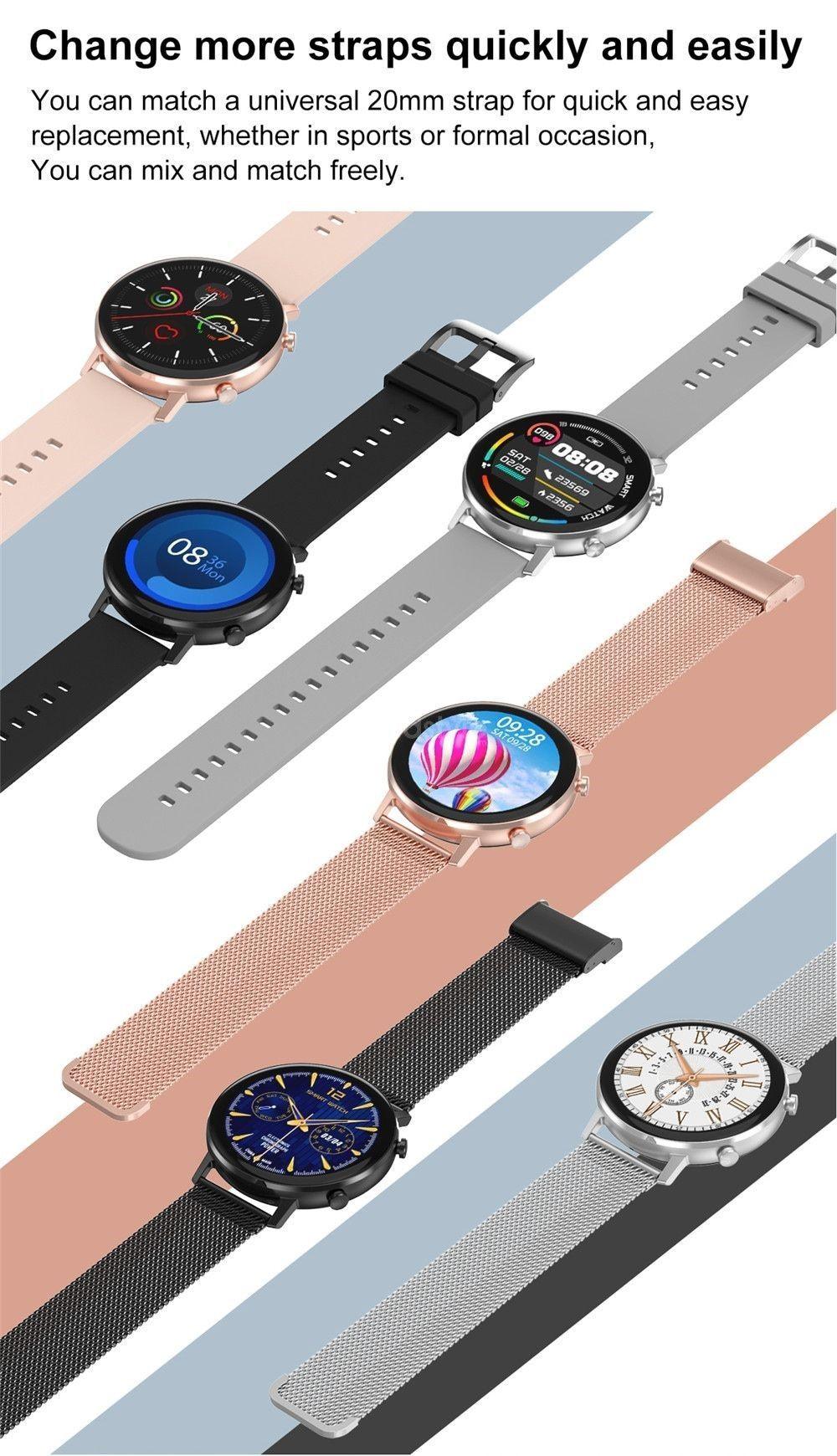 Dtno 1 Dt96 Smart Watch Ip67 Waterproof (9)