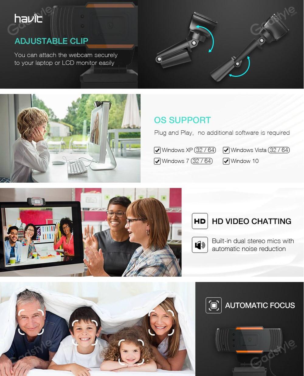 Havit Hv N5086 Camera And Webcam For Laptops Desktop And Pc (1)
