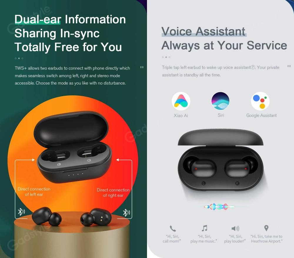 Haylou Gt1 Xr Tws Wireless Bluetooth Earbuds (1)