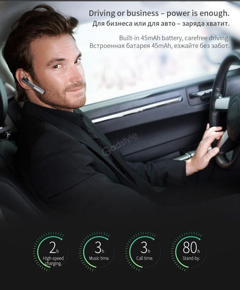 Hoco E21 Mini Portable Wireless Bluetooth Single Earphone (1)