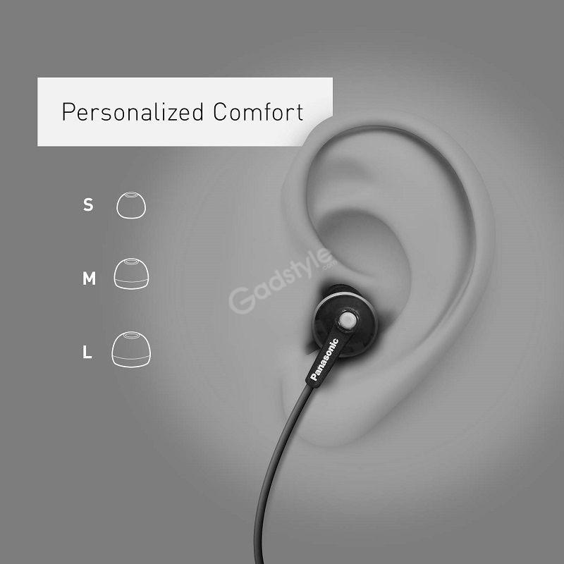 Panasonic Ergofit In Ear Earbud Balanced Rich Bass (5)