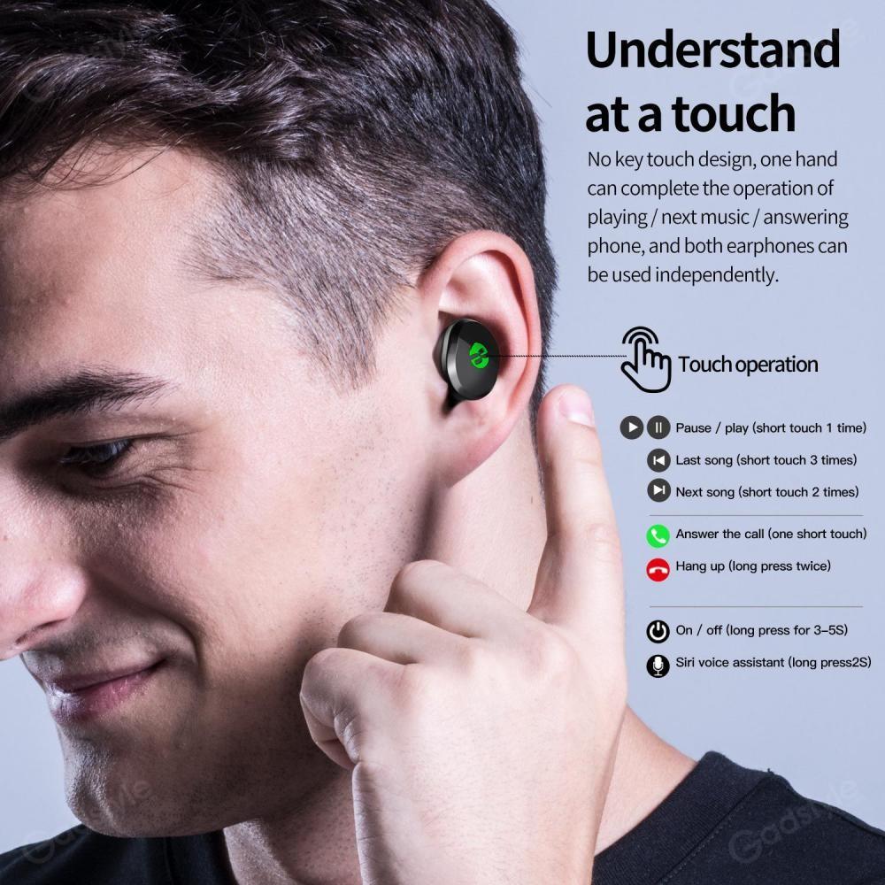 Plextone 4free True Wireless Gaming Earbuds With Mic (1)