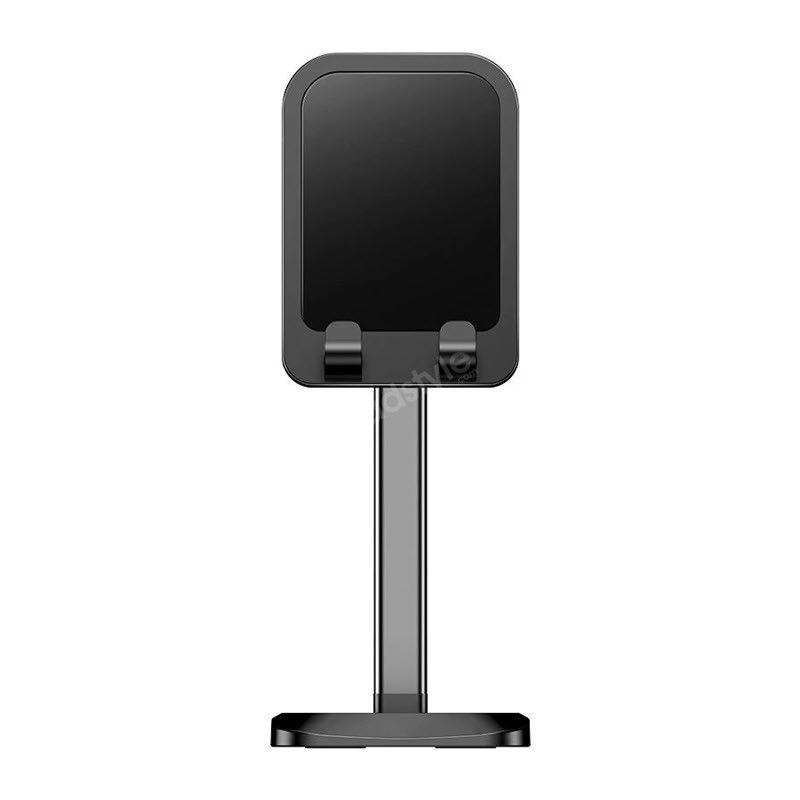 Rock Metal Desktop Stand Tablet Phone Holder Liftable Version (1)