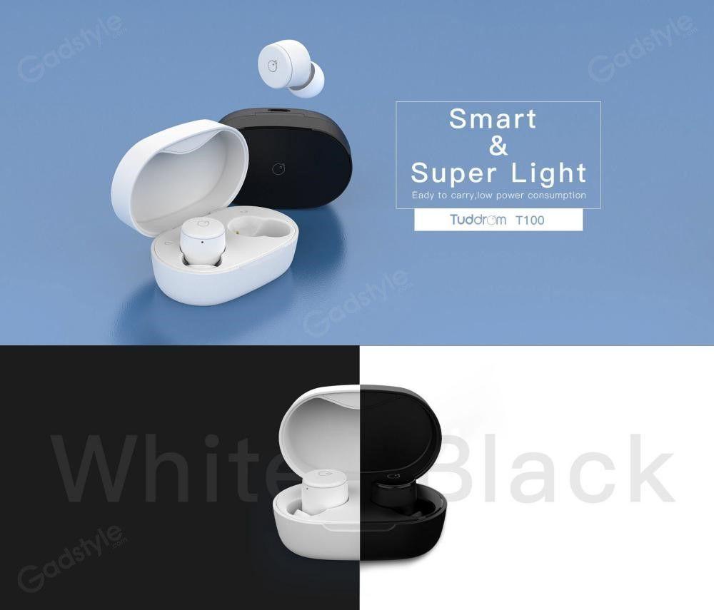 Tuddrom T100 Bluetooth 5 Ipx5 Wireless Earbuds (5)