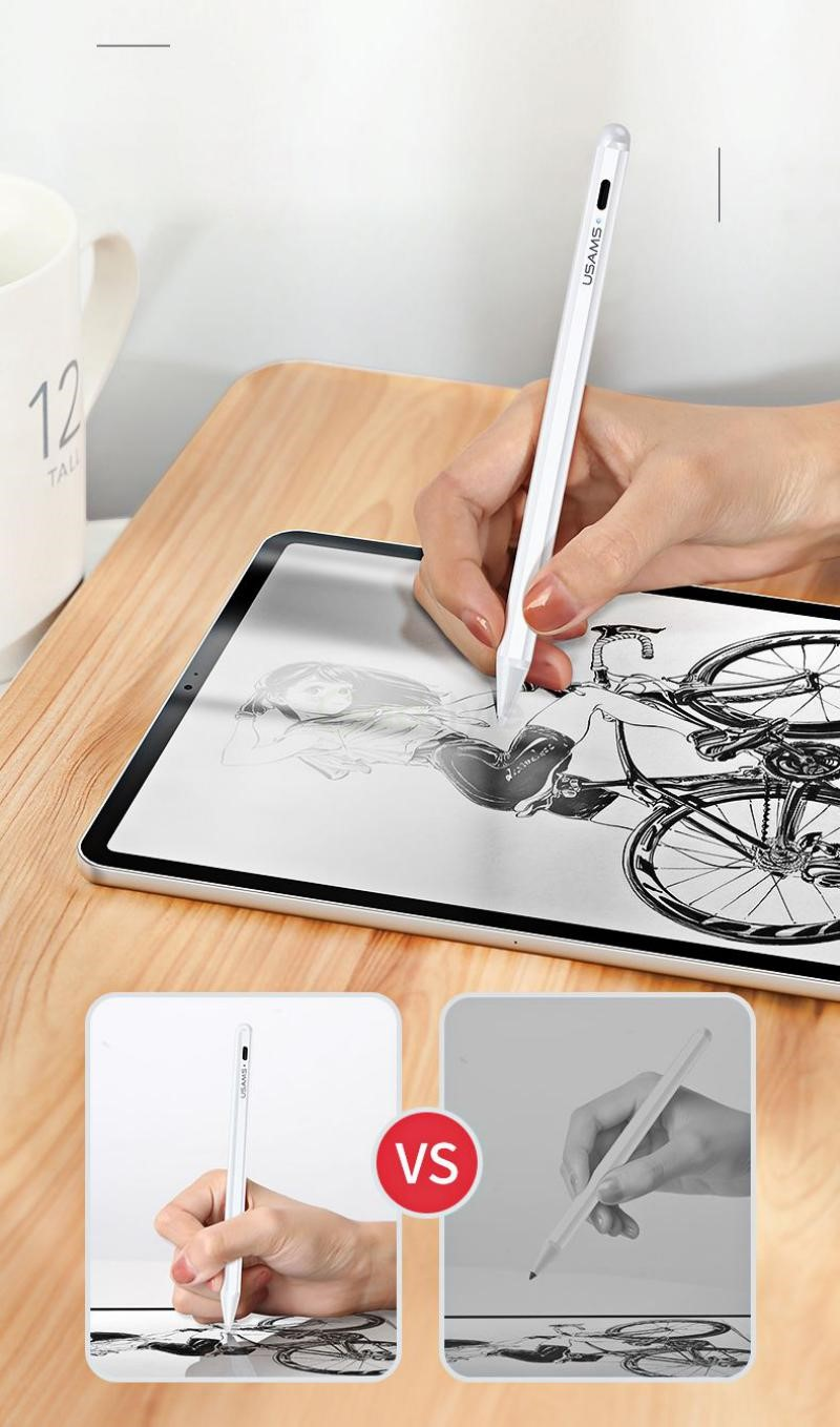 Usams Palm Rejection Active Touch Capacitive Stylus Pen (3)
