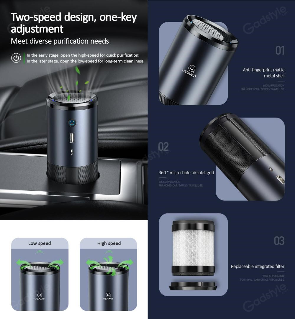 Usams Us Zb169 Portable Uvc Air Purifier (6)