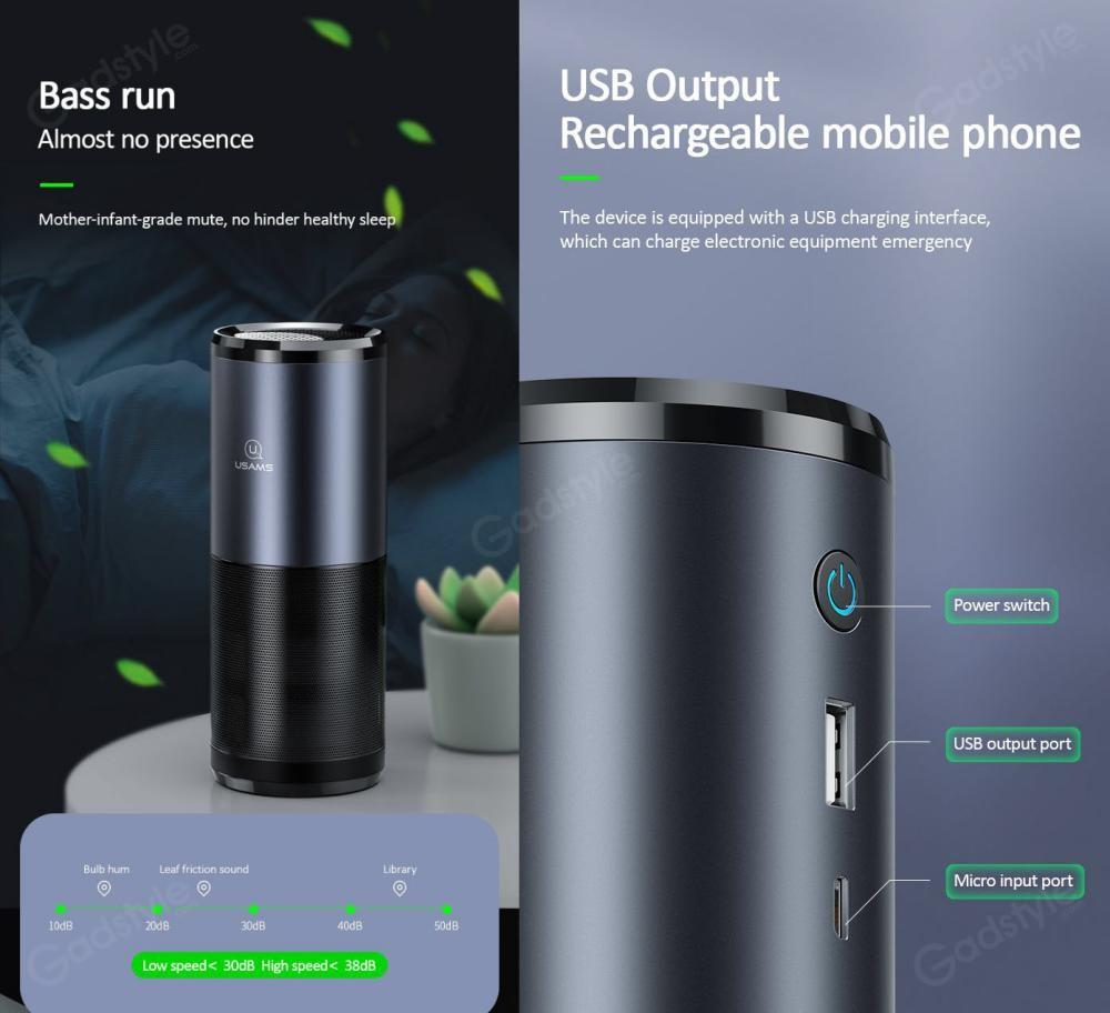 Usams Us Zb169 Portable Uvc Air Purifier (7)
