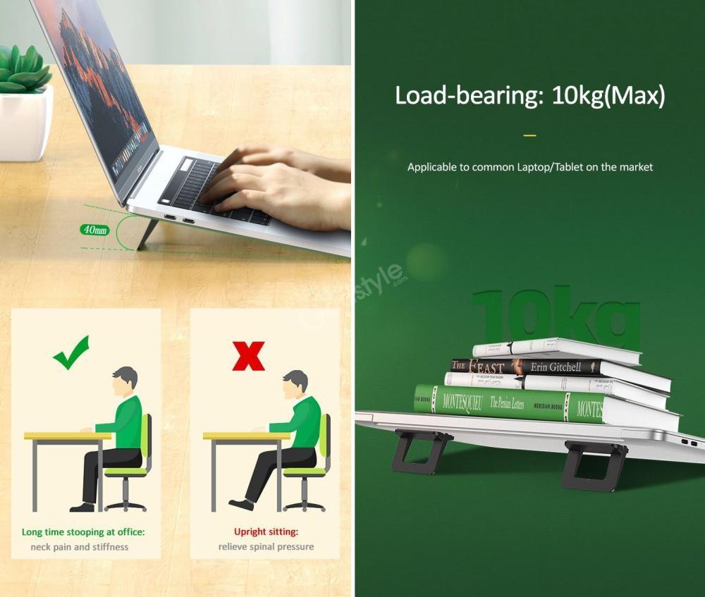 Usams Us Zj054 Laptop Tablet Holder Foldable Stand (2)