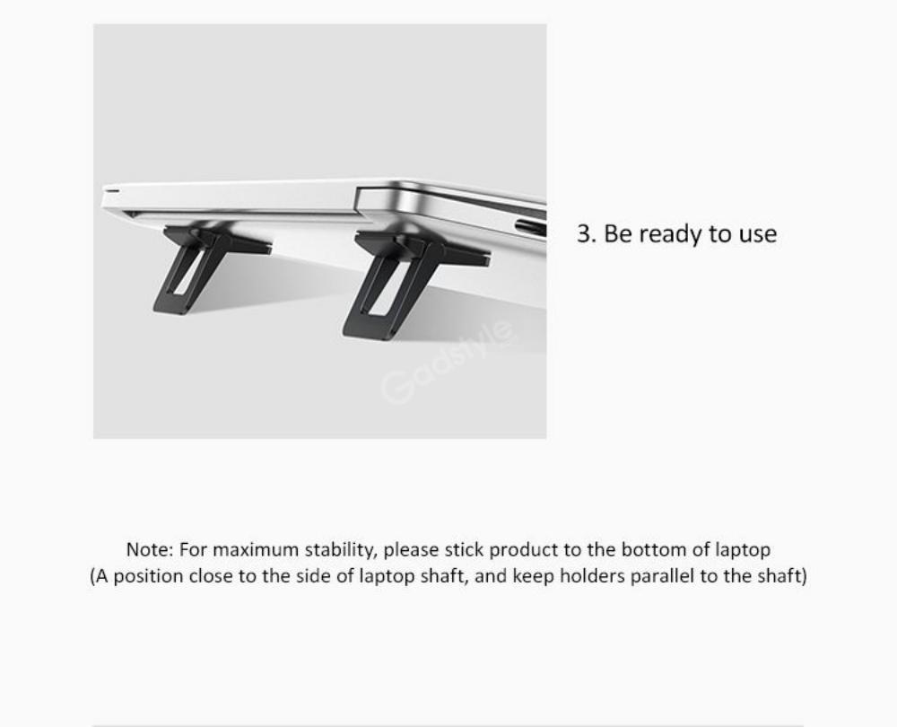 Usams Us Zj054 Laptop Tablet Holder Foldable Stand (3)