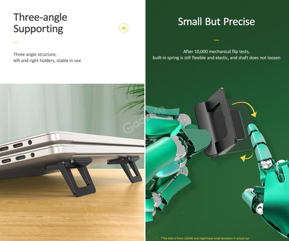 Usams Us Zj054 Laptop Tablet Holder Foldable Stand (4)