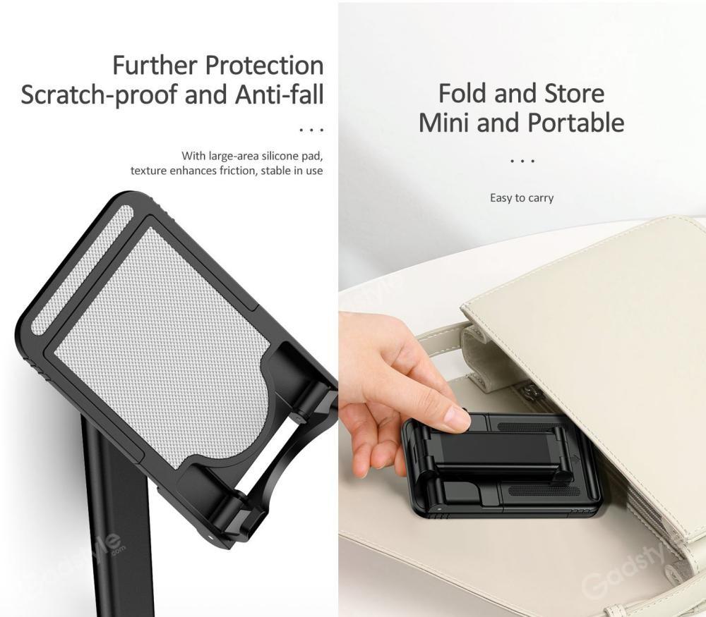 Usams Us Zj059 Retractable Foldable Desktop Phone Tablet Stand (4)
