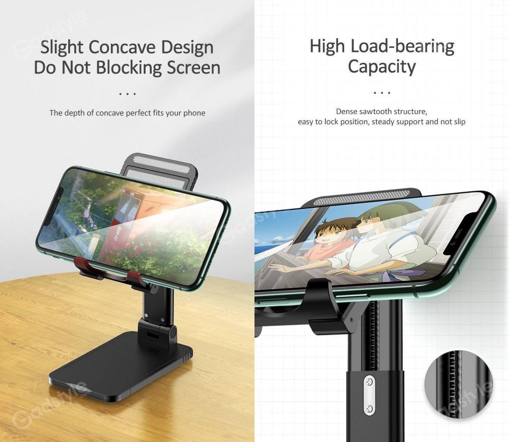 Usams Us Zj059 Retractable Foldable Desktop Phone Tablet Stand (5)