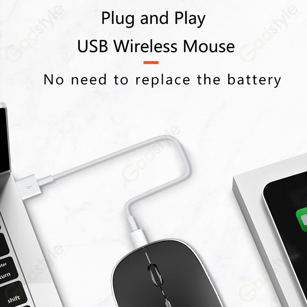 Wiwu Rechargeable Wireless Dual Mode Mouse (4)