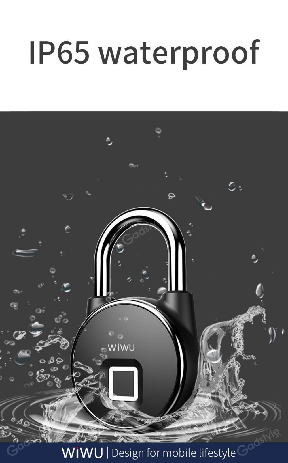 Wiwu S5 For Door Fingerprint Lock (2)