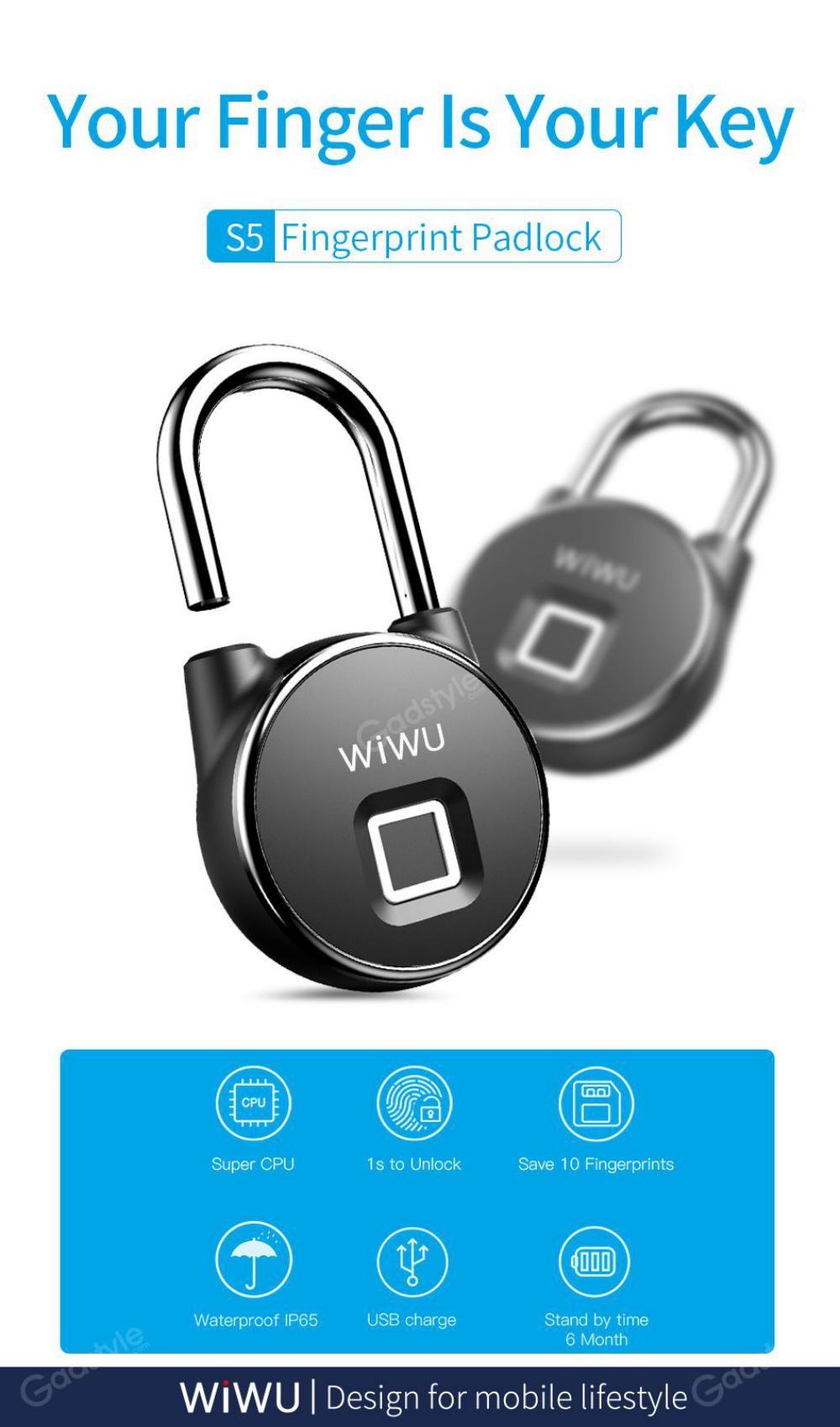 Wiwu S5 For Door Fingerprint Lock (4)