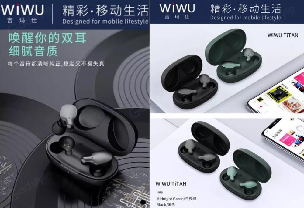 Wiwu Titan Bluetooth True Wireless Stereo Earbuds (1)