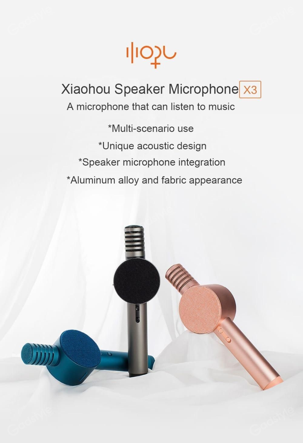 Xiaomi Hoho Sound Mic With Speaker (2)