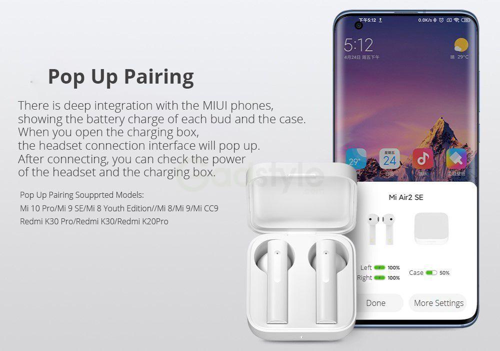 Xiaomi Mi Air2 Se Tws Earphones (3)