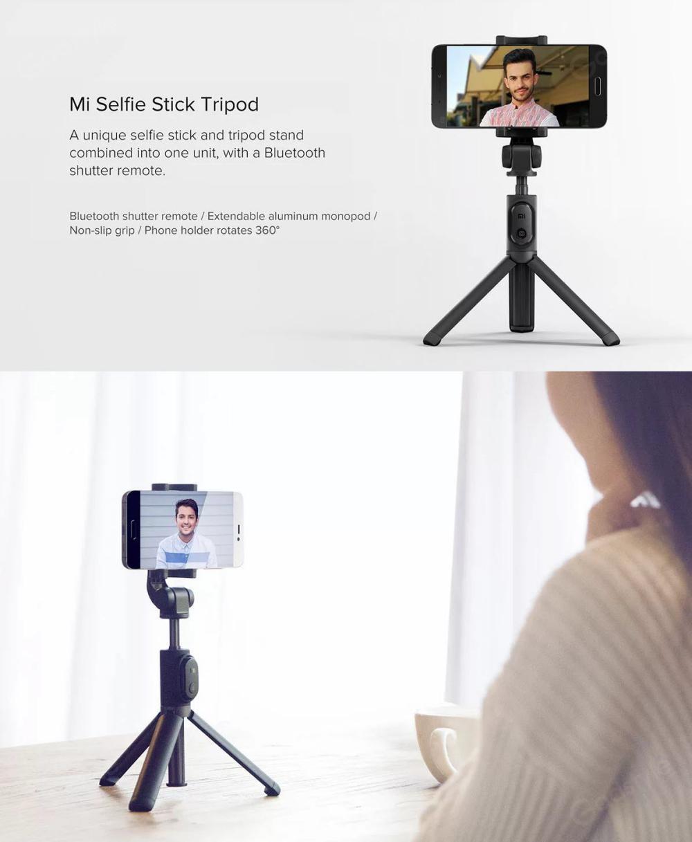 Xiaomi Mi Bluetooth Selfie Stick With Tripod (2)