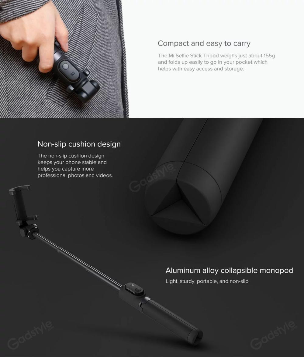 Xiaomi Mi Bluetooth Selfie Stick With Tripod (3)