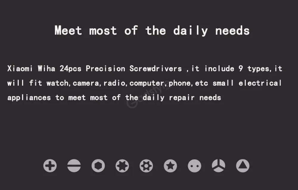 Xiaomi Wiha 24 In 1 Multi Purpose Precision Screwdriver (1)