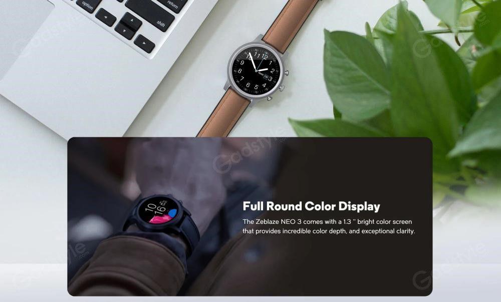 Zeblaze Neo 3 Ip68 Waterproof Smart Watch (2)