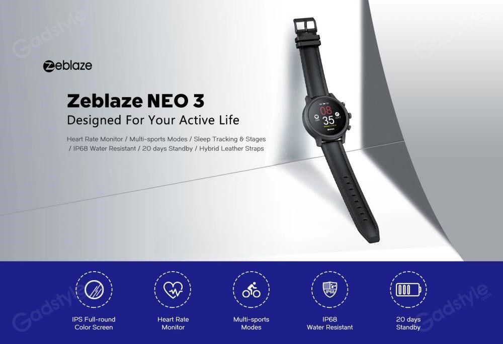 Zeblaze Neo 3 Ip68 Waterproof Smart Watch (7)