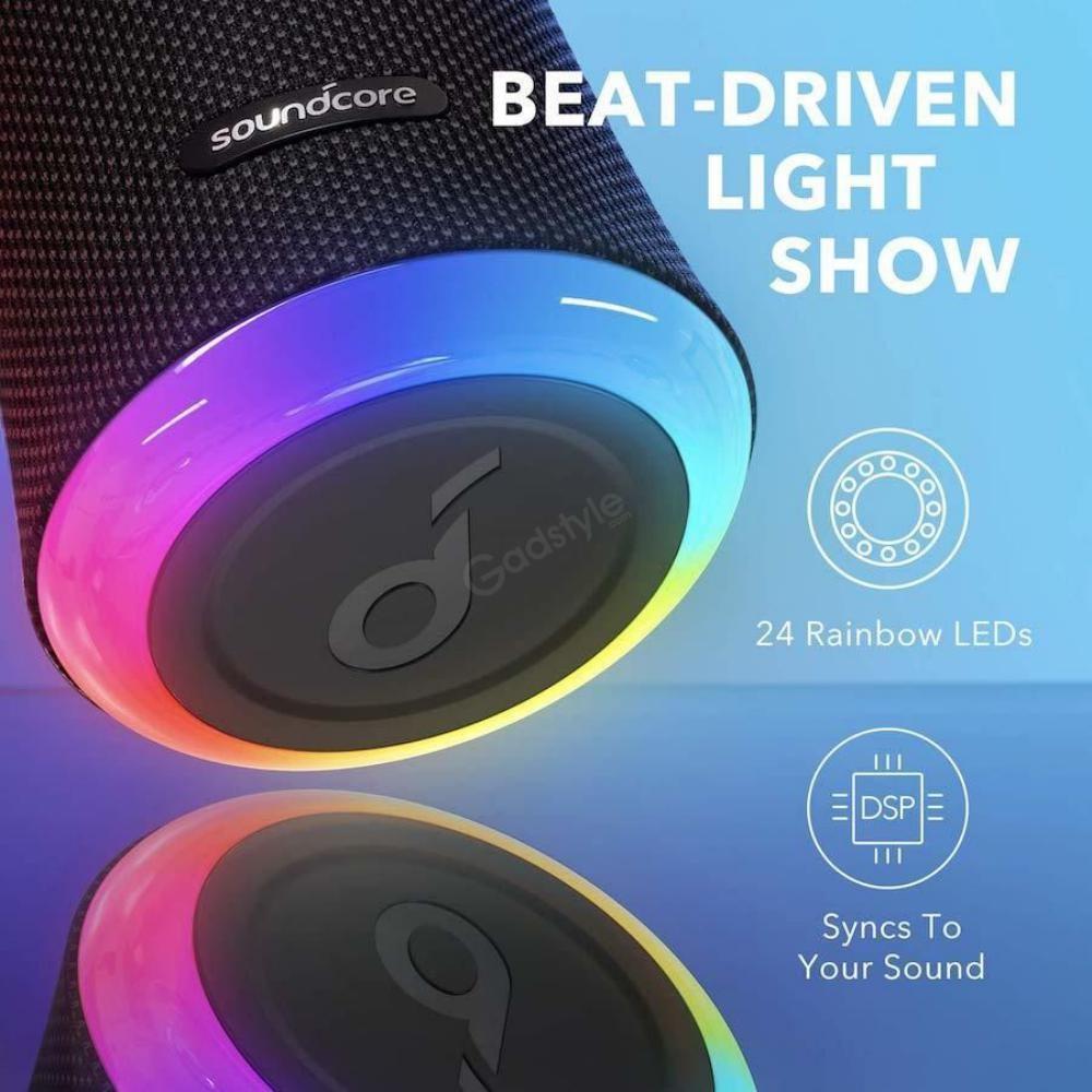 Anker Soundcore Flare 2 Bluetooth Speaker (6)