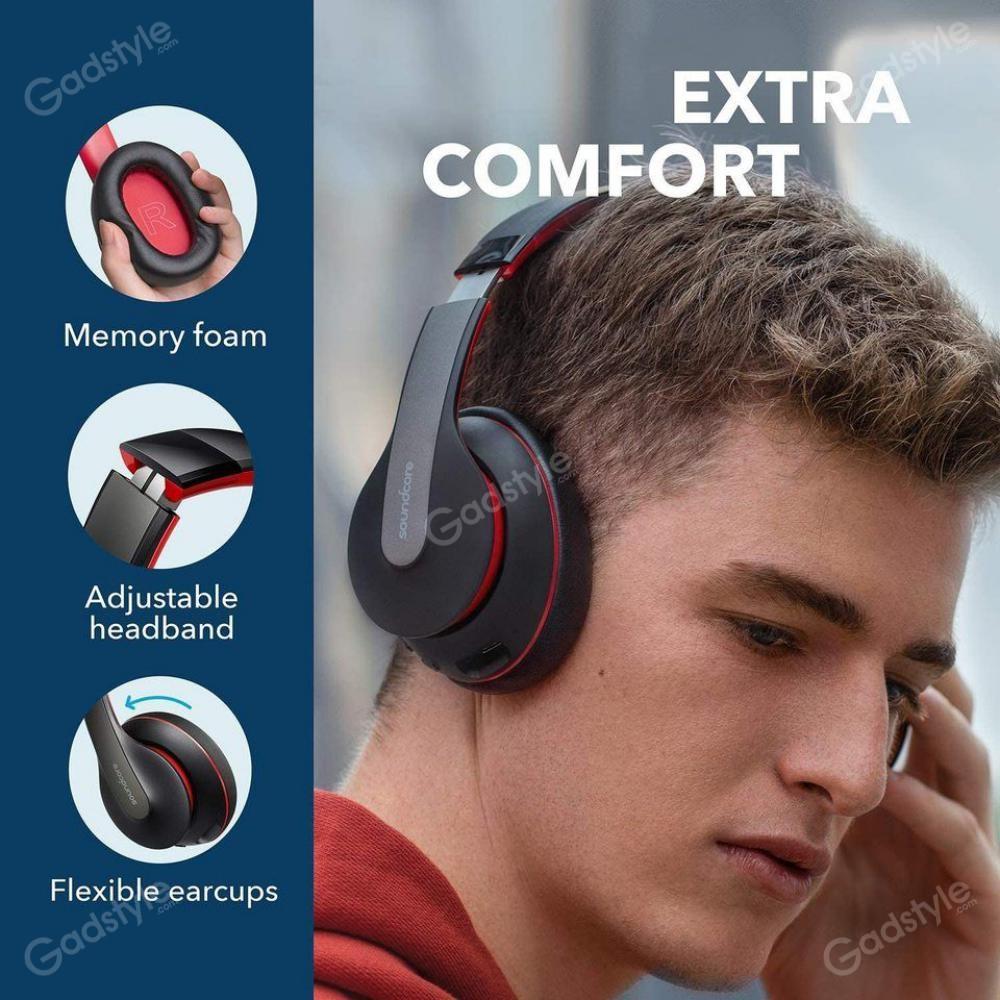 Anker Soundcore Life Q10 Over Ear Foldable Wireless Bluetooth Headphones (3)