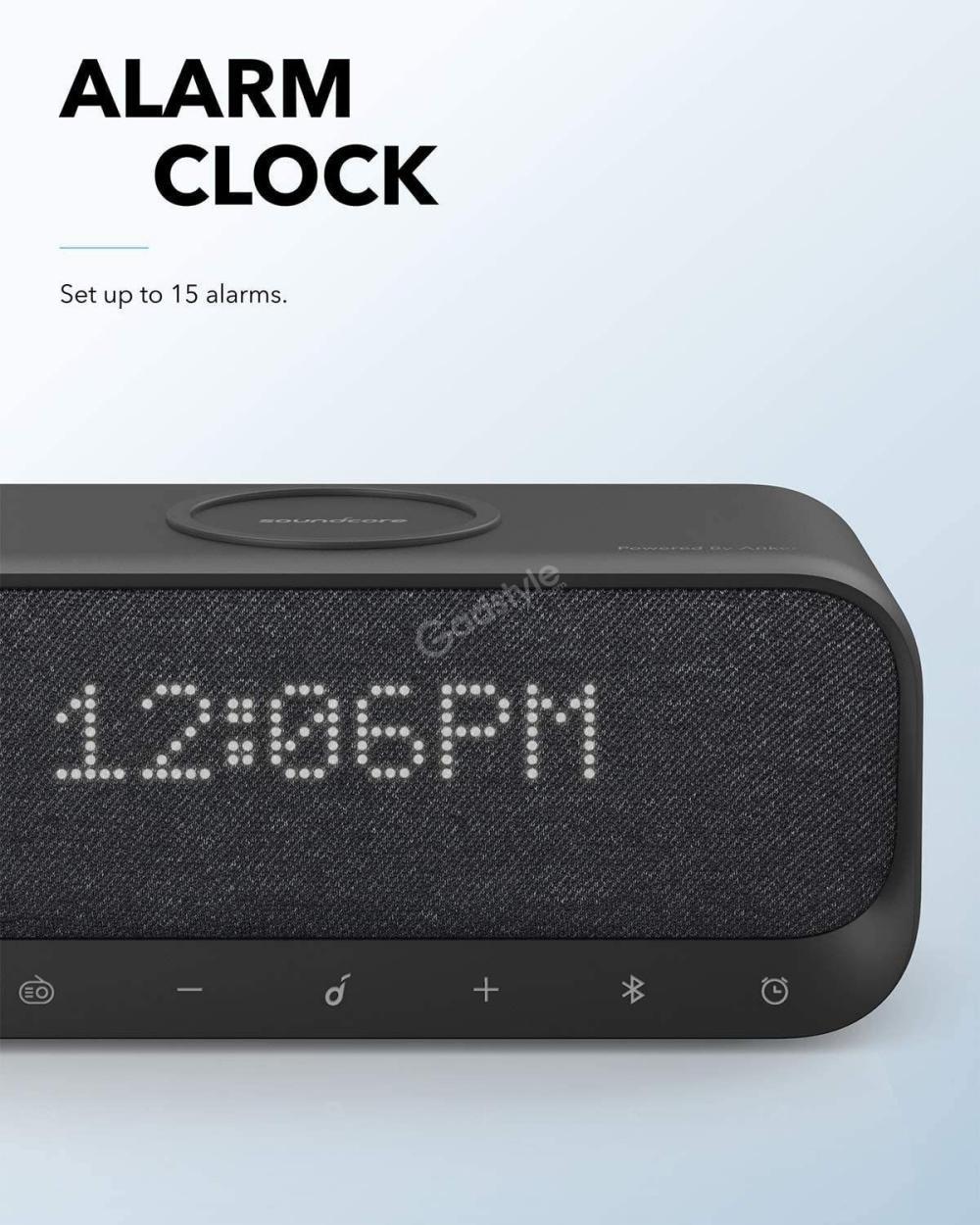 Anker Soundcore Wakey Bluetooth Speakers With Alarm Clock (5)