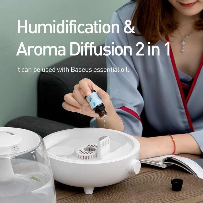 Baseus 2 4l Large Capacity Air Humidifier Essential Oil (4)