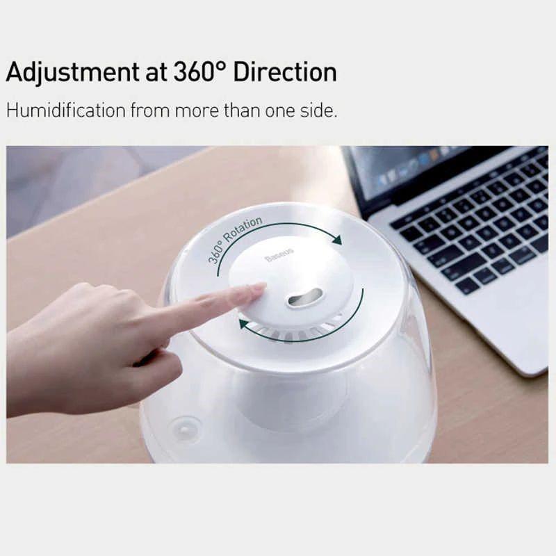 Baseus 2 4l Large Capacity Air Humidifier Essential Oil (5)