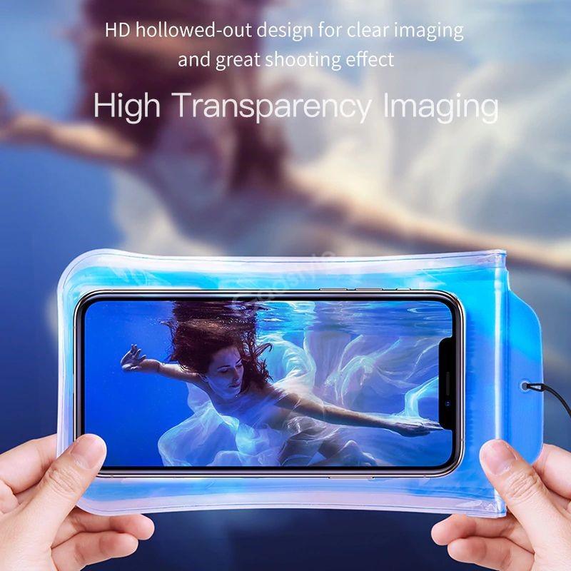 Baseus Airbag Underwater Mobile Phone Waterproof Case (1)