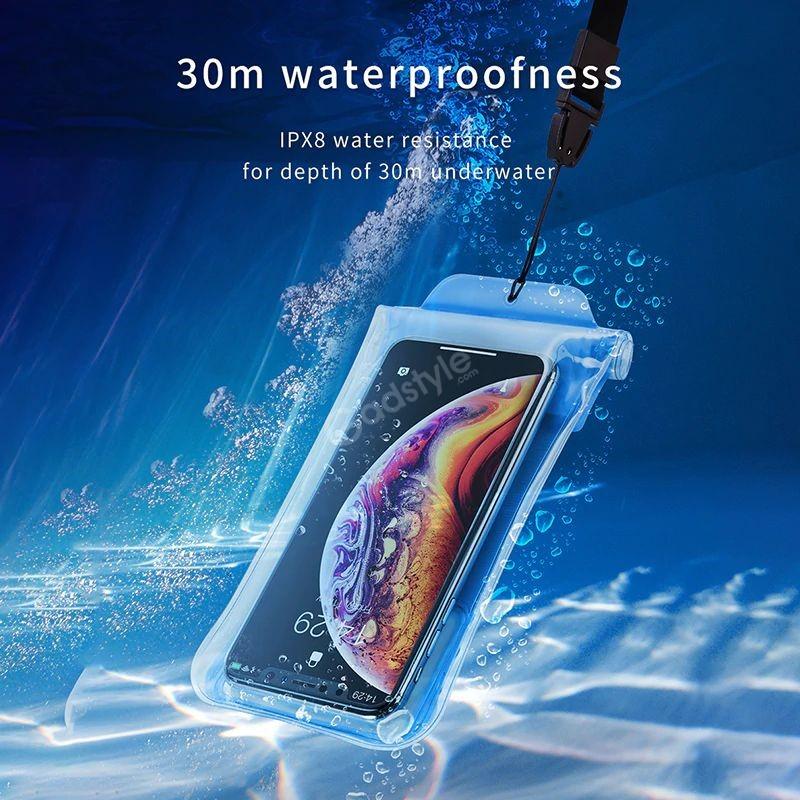 Baseus Airbag Underwater Mobile Phone Waterproof Case (3)