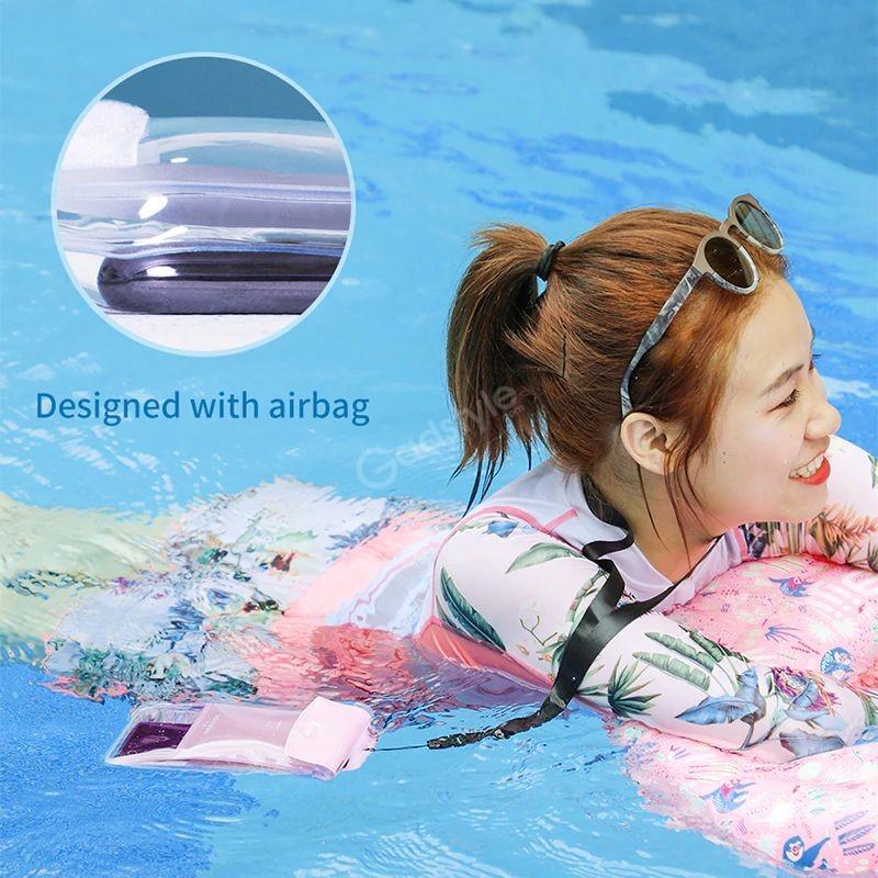 Baseus Airbag Underwater Mobile Phone Waterproof Case (4)