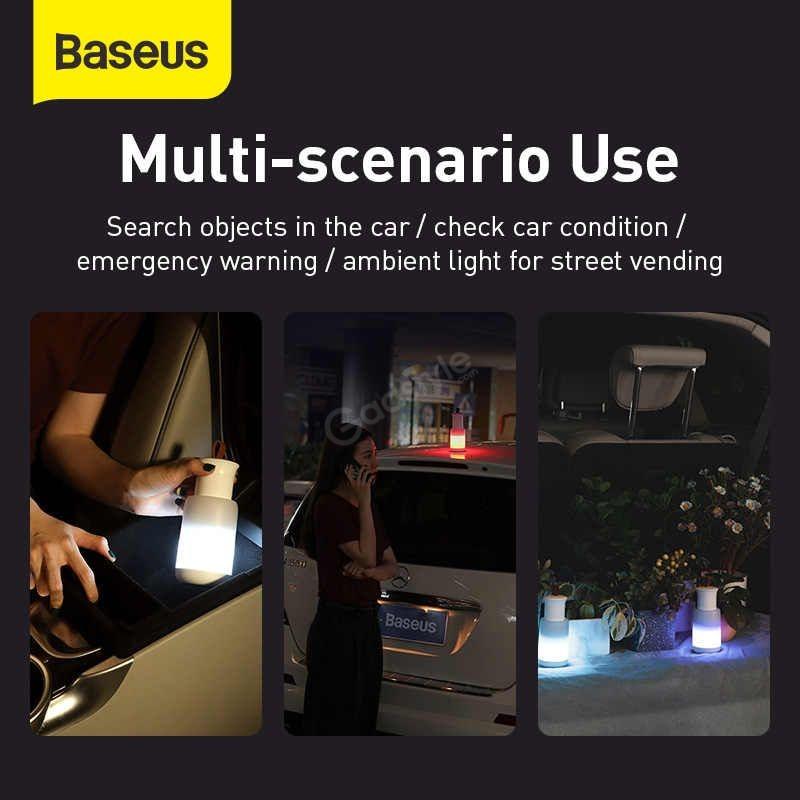 Baseus Car Emergency Led Flashing Light Rechargeable (1)