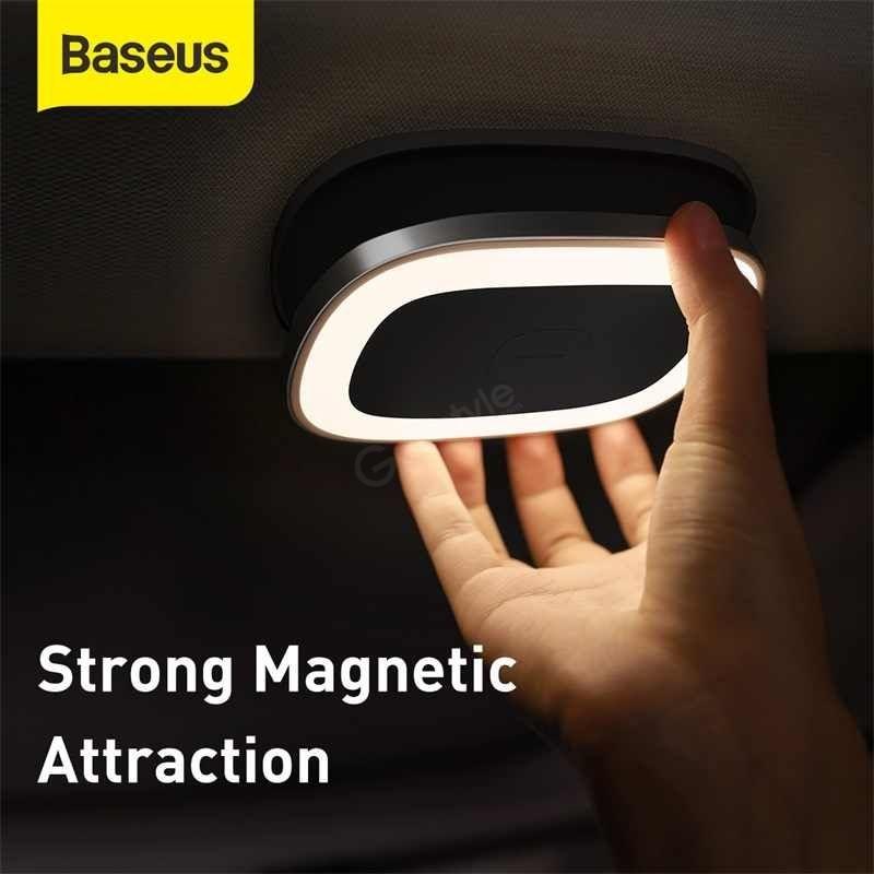 Baseus Car Interior Light Reading Lamp Rechargeable Car Ceiling Lamp (2)