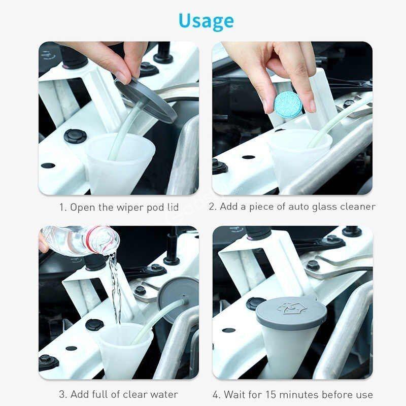 Baseus Car Windshield Auto Window Glass Cleaning Wiper 12pcs (1)