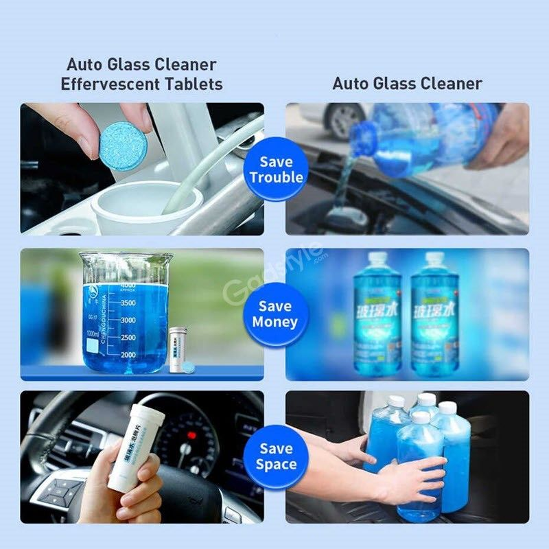 Baseus Car Windshield Auto Window Glass Cleaning Wiper 12pcs (7)