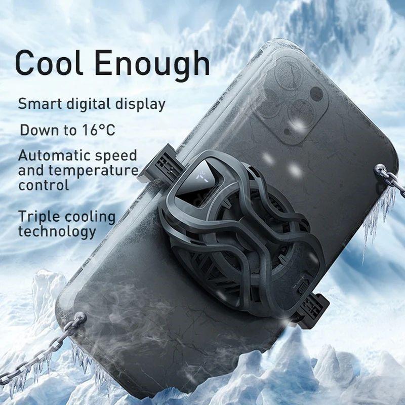 Baseus Ga06 Gamo Refriger Cooling Radiator Mobile Phone Cooler (1)