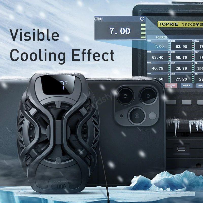 Baseus Ga06 Gamo Refriger Cooling Radiator Mobile Phone Cooler (3)