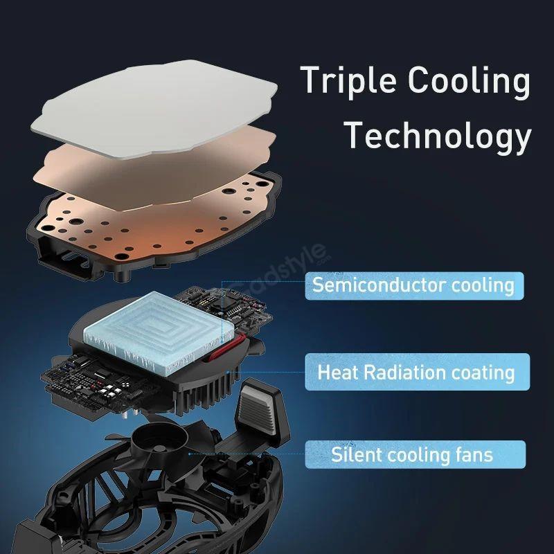 Baseus Ga06 Gamo Refriger Cooling Radiator Mobile Phone Cooler (4)