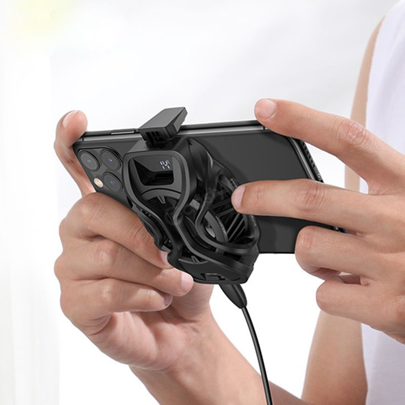 Baseus Ga06 Gamo Refriger Cooling Radiator Mobile Phone Cooler (5)