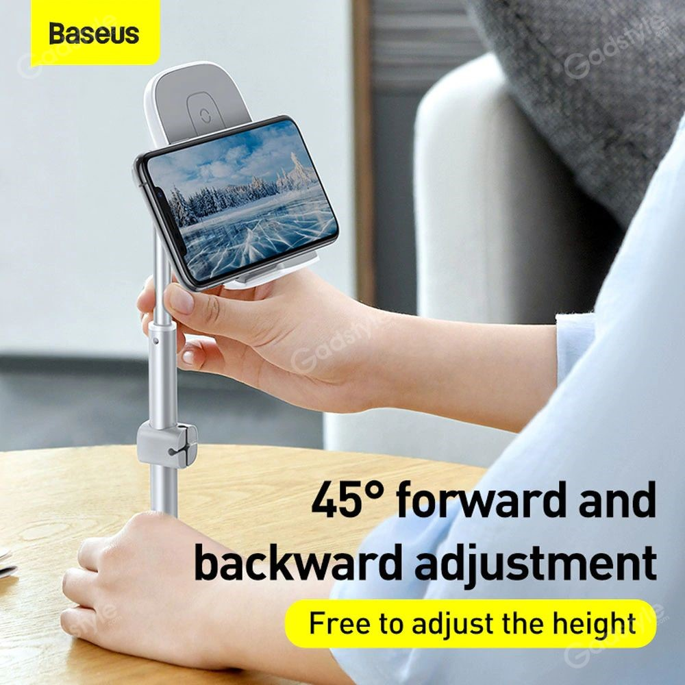 Baseus Literary Youth Desktop Bracket Telescopic Wireless Charging (11)