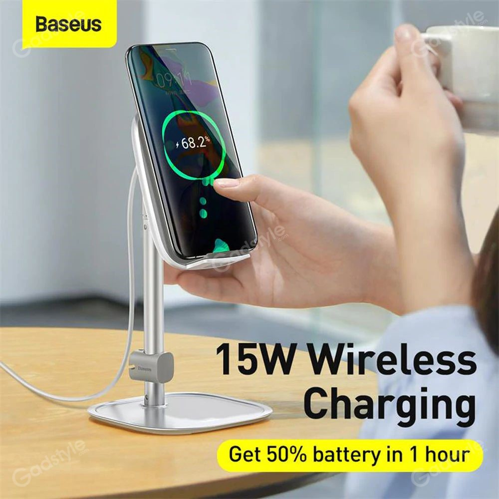 Baseus Literary Youth Desktop Bracket Telescopic Wireless Charging (9)