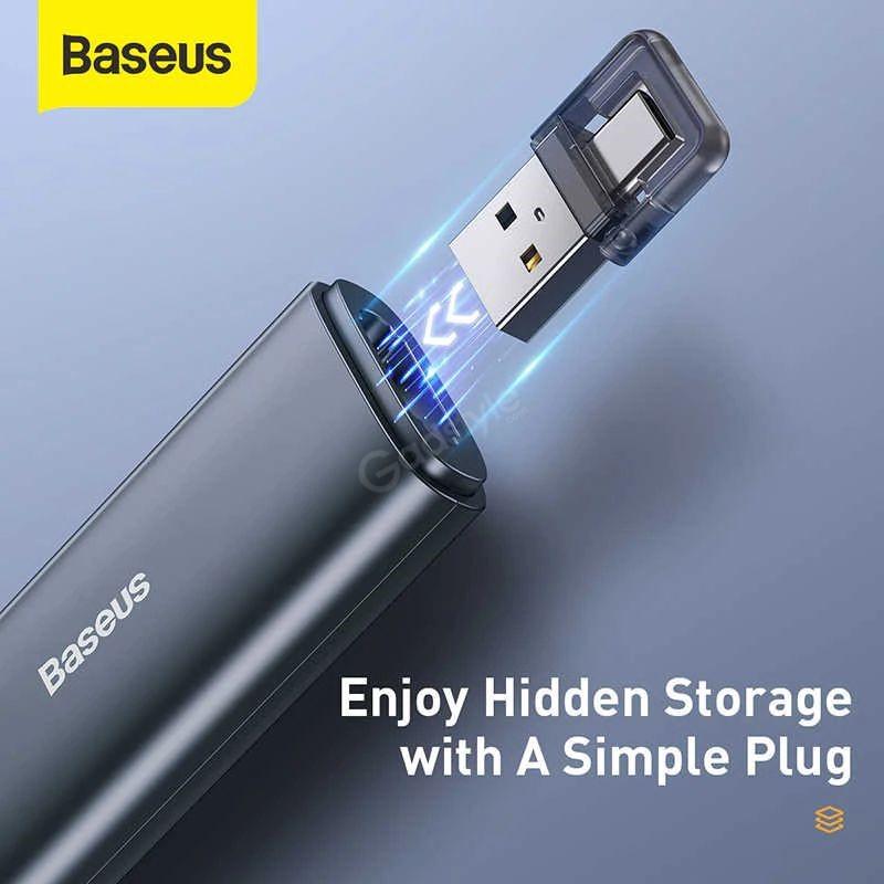 Baseus Orange Dot Bluetooth Wireless Presenter Laser Pointer (2)