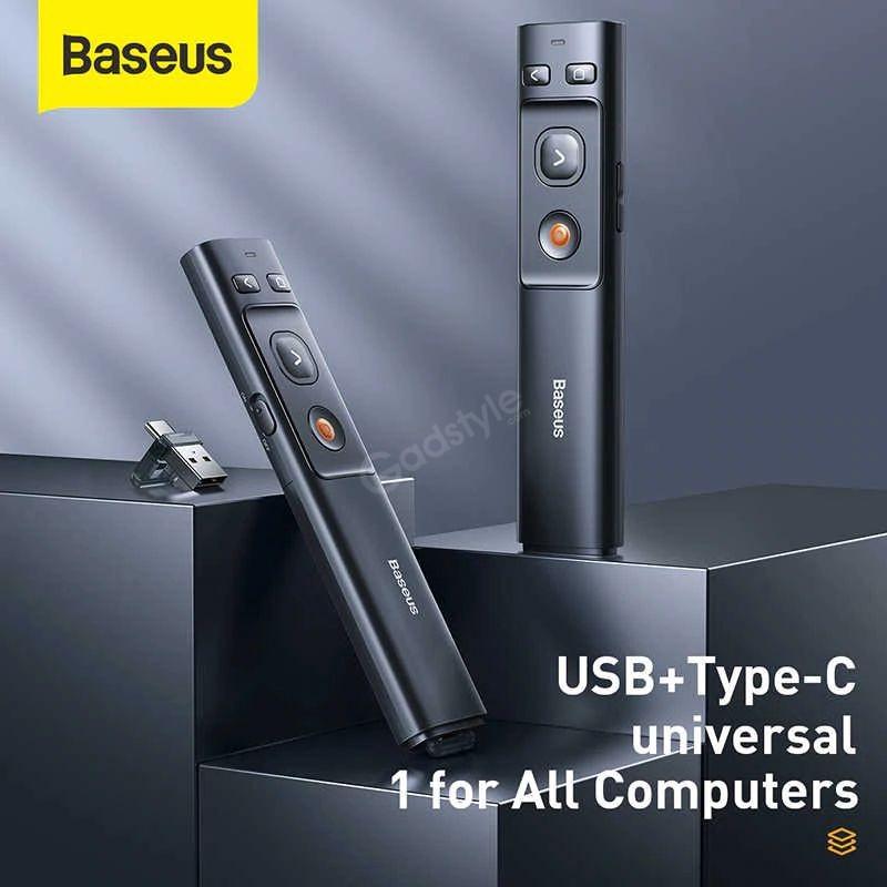 Baseus Orange Dot Bluetooth Wireless Presenter Laser Pointer (6)